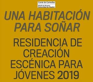 Abierta convocatoria para la II edición de 'Una habitación para soñar', residencia artística para jóvenes creadores de la Comunidad de Madrid